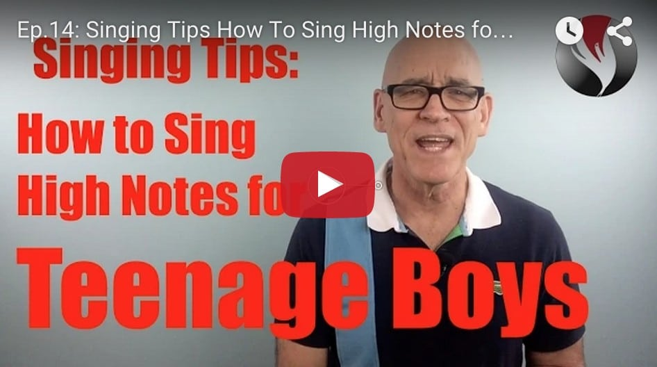 Ep.14: How To Sing High Notes-Teen Boys