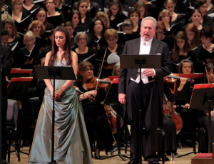 Sing High Notes: Easily heard even over an orchestra