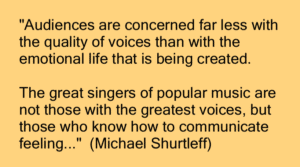 Singing with Confidence - It's NOT About How Good Your Voice Is!