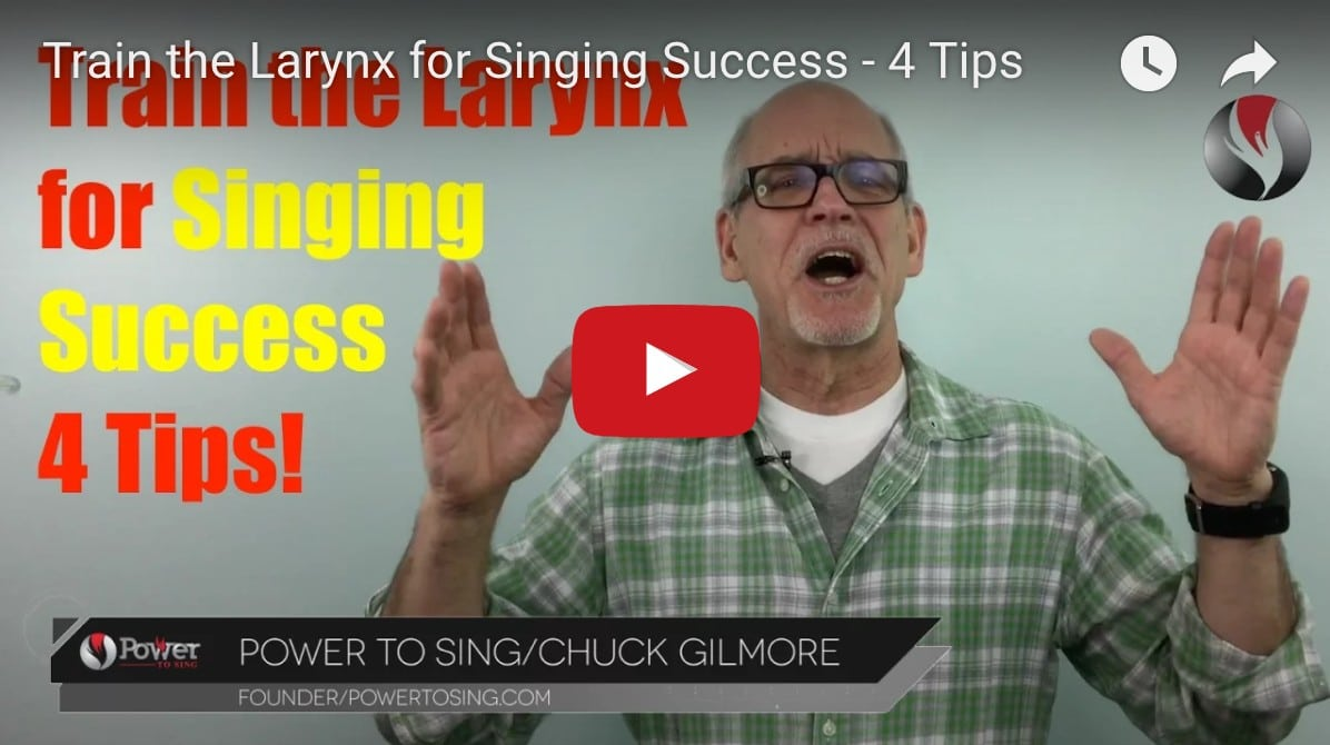 Train the Larynx for Singing Success – 4 Tips
