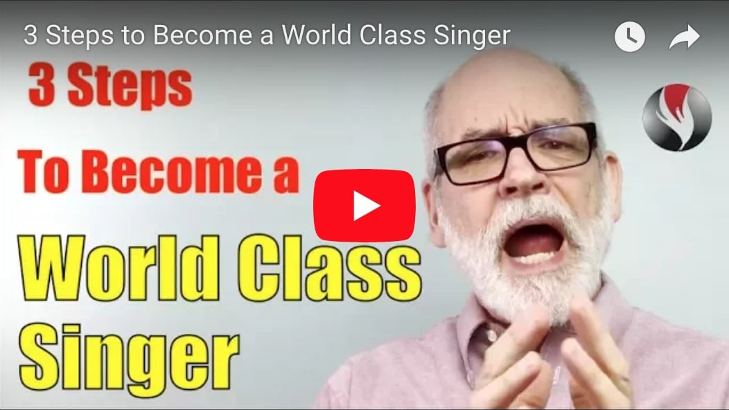 Three Steps to Become a World Class Singer