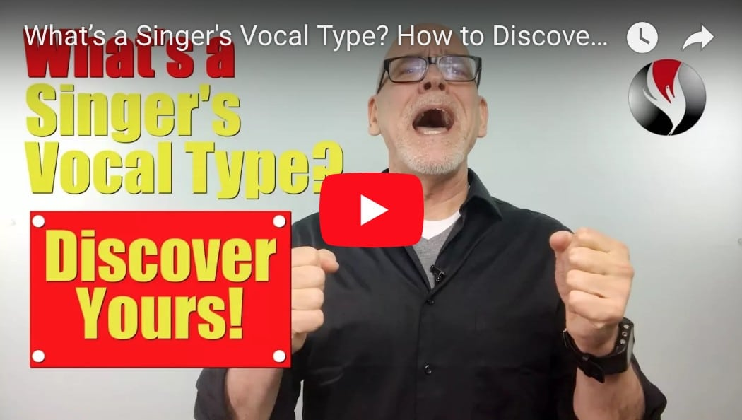 What's a Singer's Vocal Type? How to Discover Yours!