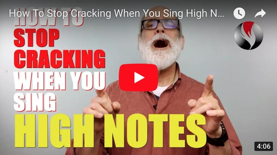 How To Stop Cracking When You Sing High Notes