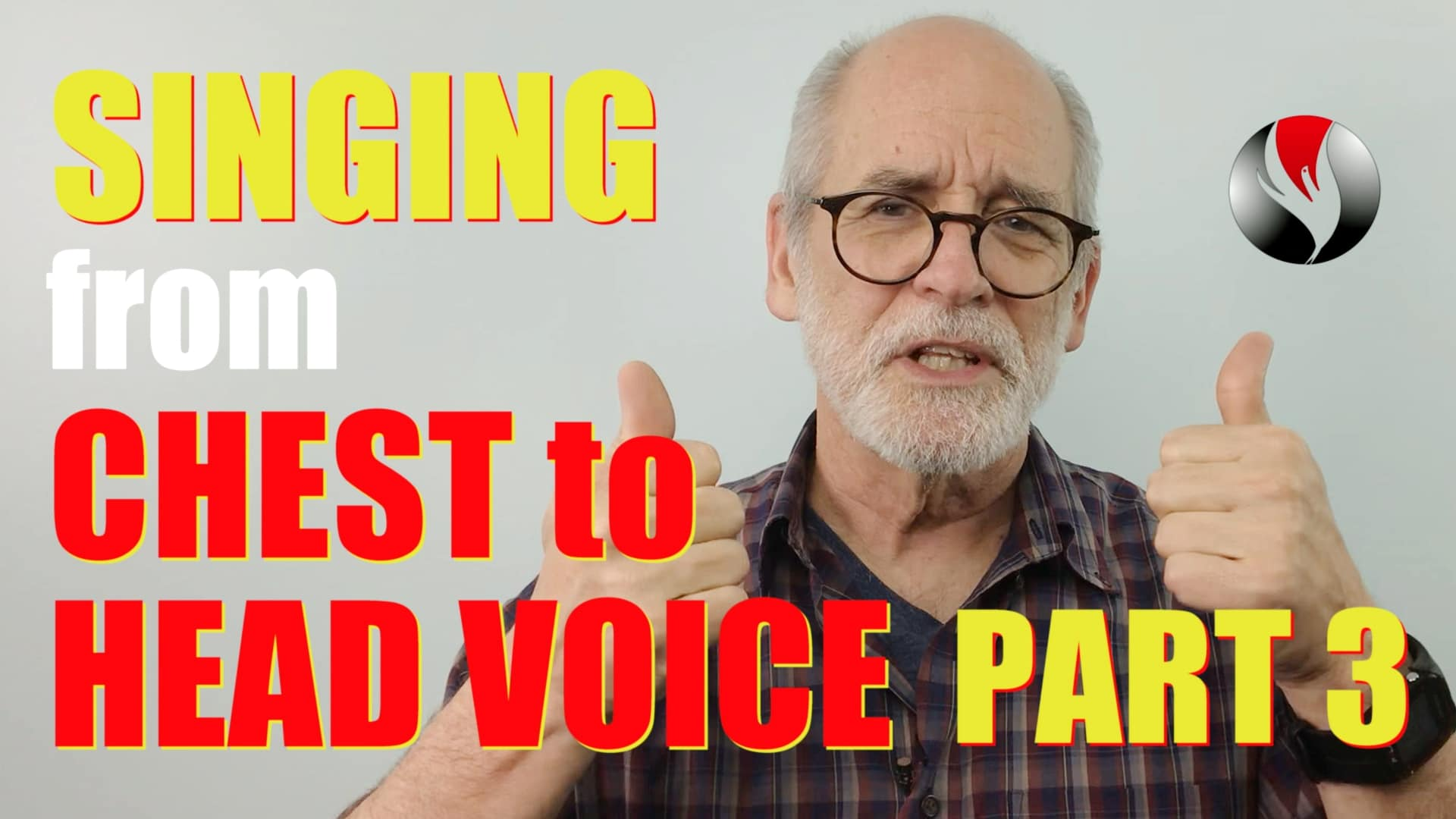 Singing from Chest to Head Voice – Part 3 – Exercises for Power in Songs!
