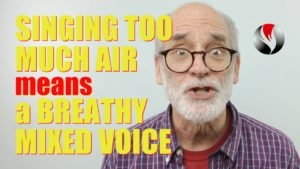 Singing Too Much Air – Means a Breathy Mixed Voice