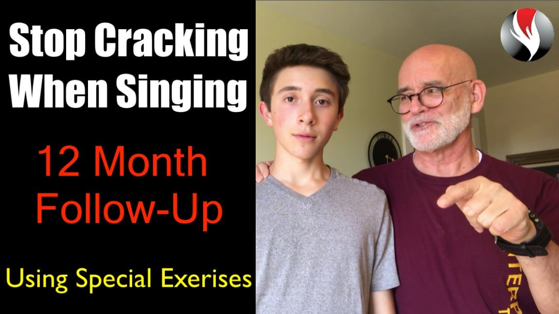 How To Stop Cracking When Singing – 12 Month Follow Up – Special Vocal Exercises to Stop Cracking