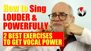 How To Sing Louder And More Powerfully – 2 Best Exercises To Get Vocal Power